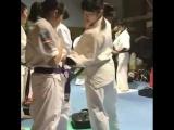 Жёсткая набивка в Кёкусинкай карате от девушек. Подготовка бойца. https://vk.com/oyama_mas