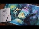 [NO.6] Watercolor illustration-SpeedDrawing-ConceptArt / 수채화일러스트-드로잉[ERUDA]