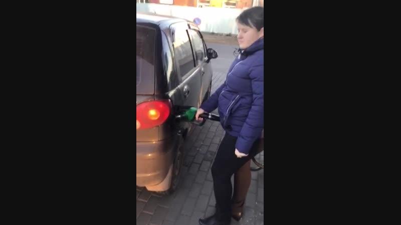 Щигровским автомобилистам начали дарить топливо в Центрах У Виталия