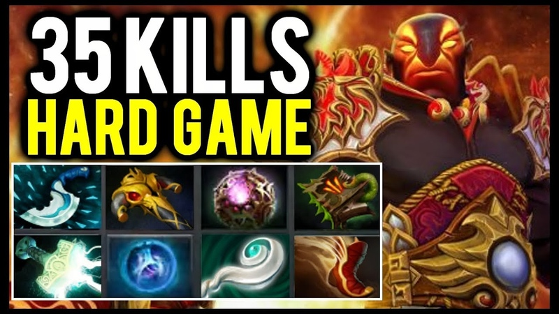 Try Hard Defense! 35 Kills Intense Battle Ember Spirt by Cancel Dota2