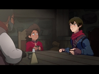 The Dragon Prince s01e07 - The Dagger and the Wolf rus sub