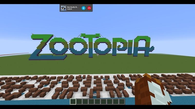 Shakira Try Everything Zootopia Minecraft Noteblocks