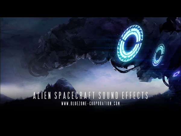 Bluezone Corporation Alien Spacecraft Sound Effects - Organic Spaceship SFX and Ambiences