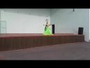 14 07 18 Колпачева Нина шоу Канделябр или шамадан шоу Отчетный концерт группы восточного танца Зафира Елец
