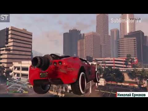 GTA 5 Фейлы, Трюки, Эпичные Моменты Приколы в GTA 5 Новий випуск