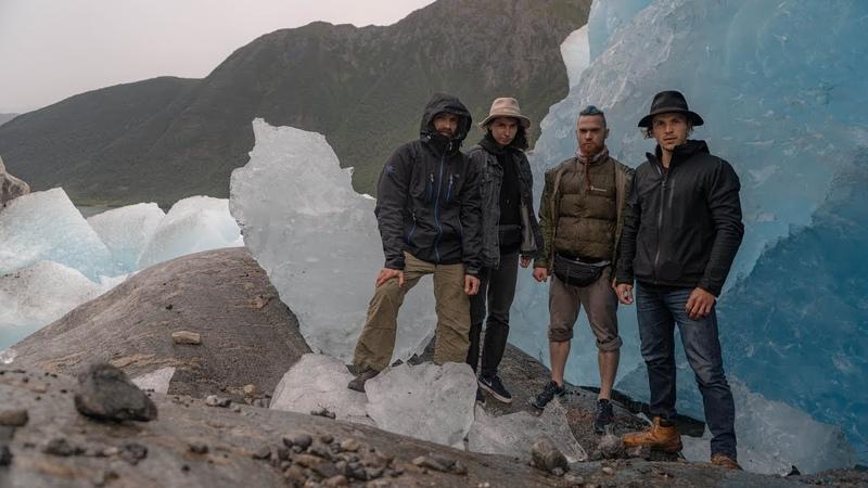 Норвегия опоздали на последний паром; ночёвка у ледника Свартисен