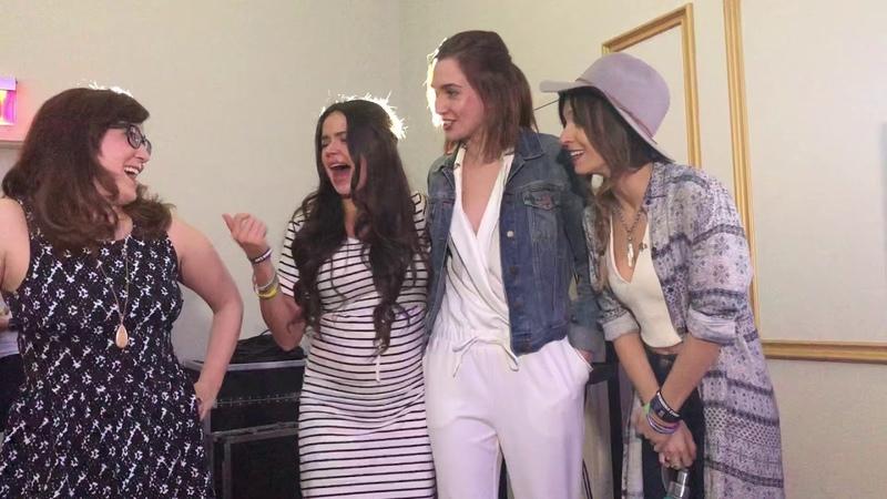 Wynonna Earp BTS Panel Footage