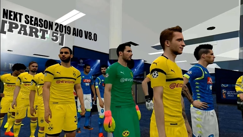 NEXT SEASON 2019 AIO V8.0 UPDATE FOR PES 2017 [PART 5]