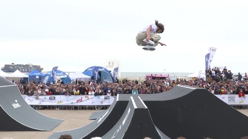 Joe Atkinson 1st Final Roller Freestyle Park FISE Xperience Le Havre 2018
