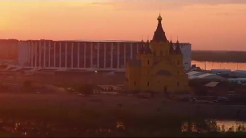 Замечательное видео нашего прекрасного Нижнего Новгорода Видео Андрей Ефимов