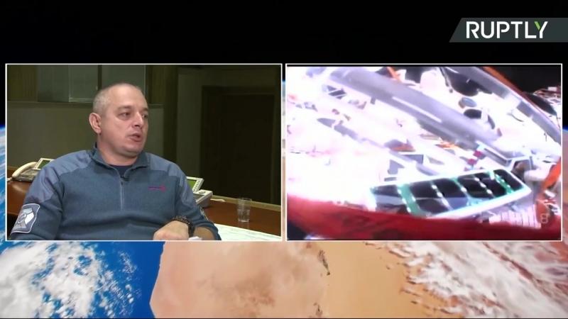 Видео запуска наноспутников ЮЗГУ с комментарием экспертов Роскосмоса.