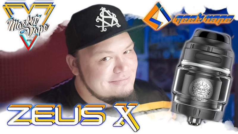 Zeus X RTA by GeekVape Занятный Бак
