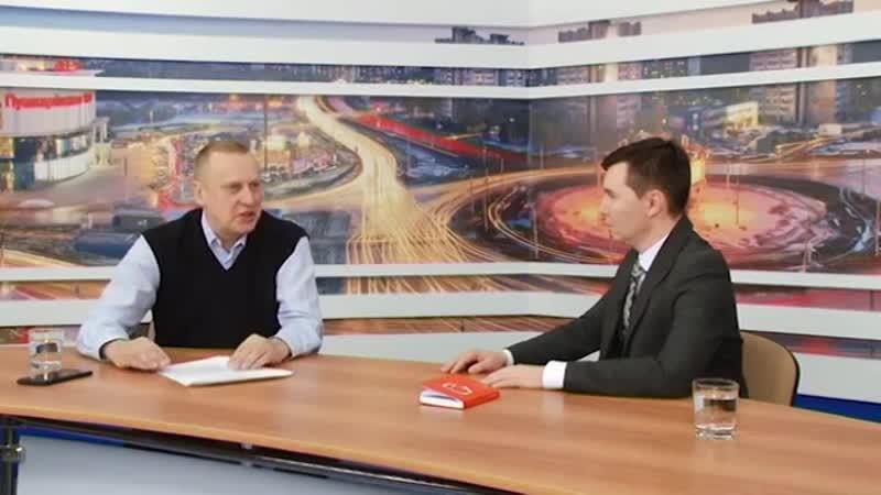 Интервью и.о. главы Димитровграда Алексея Гадальшина каналу 360 Ульяновск
