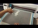 Фетровые зайцы на плоттере ScanNcut