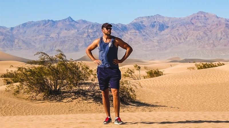 Самое жаркое место в Америке - Долина Смерти. Приехали в Калифорнию