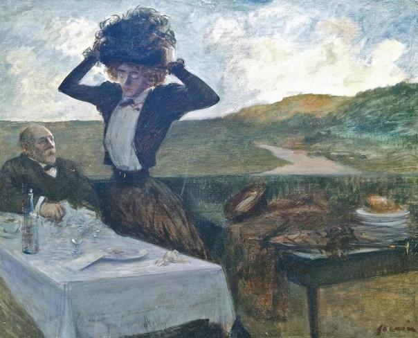 жан-луи форен — французский художник, график и книжный иллюстратор. острый карикатурист, наблюдательный критик общественных нравов. из семьи ткачей. в 1860 приехал c родителями в париж. учился в