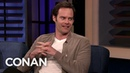 Bill Hader Loves The True Crime Show Snapped CONAN on TBS