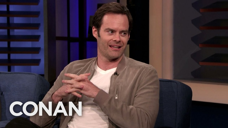 Bill Hader Loves The True Crime Show Snapped - CONAN on TBS