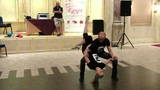 Bachata dips &amp tricks class Aleksei &amp Tatiana (Face2Face) on 2-nd Afrolatin Dance Festival In Egypt