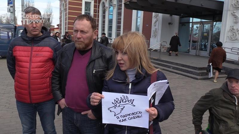 В Краматорске начата активная борьба с водителями, нарушающими права людей с инвалидностью