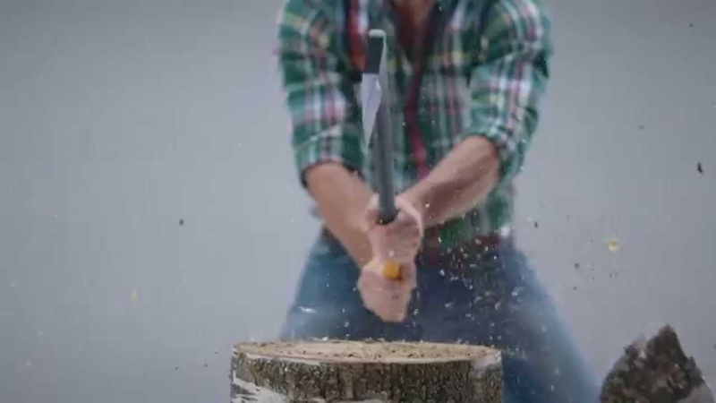 Fiskars - how to choose the right size axe