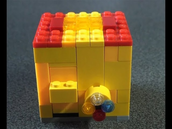Как сделать сейф из ЛЕГО 4