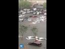 Бедствие Наводнение в городе Шэньян провинции Ляонин