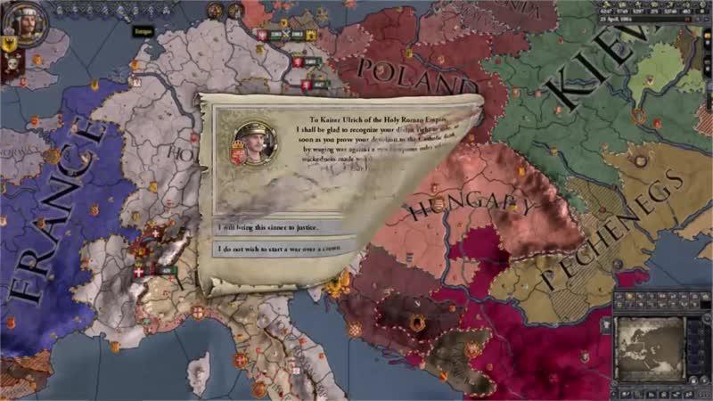 Crusader Kings II- Holy Fury - Release Trailer