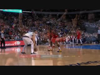 Luka Doncic Takes Over In 4Q And Hits Clutch Step-back Against Houston Rockets