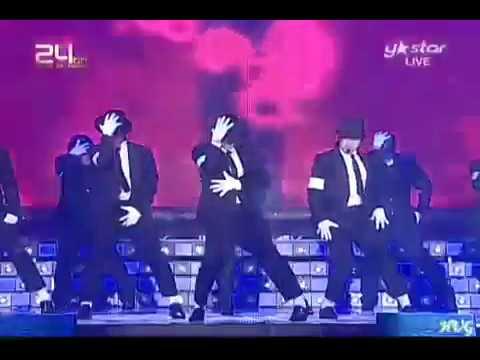 091210 [24th Golden Disk Awards] SHINee Super Junior - Beat It, Bad