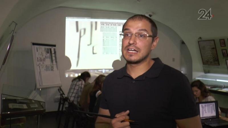 В Казани стартовали занятия по древнерусской каллиграфии