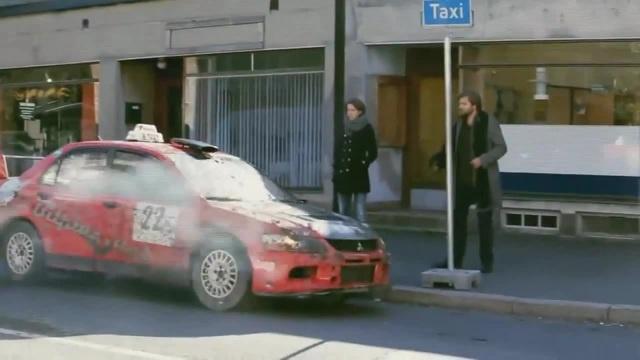Oslo Taxi | Mitsubishi Lancer Evolution IX