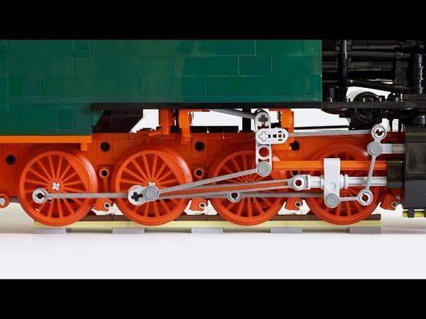 LEGO® 0 8 0T Walschaerts Winterthur valve gear
