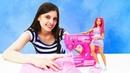 Мультики с куклами - Тереза устроила потоп дома и сожгла платье! Видео для девочек Барби