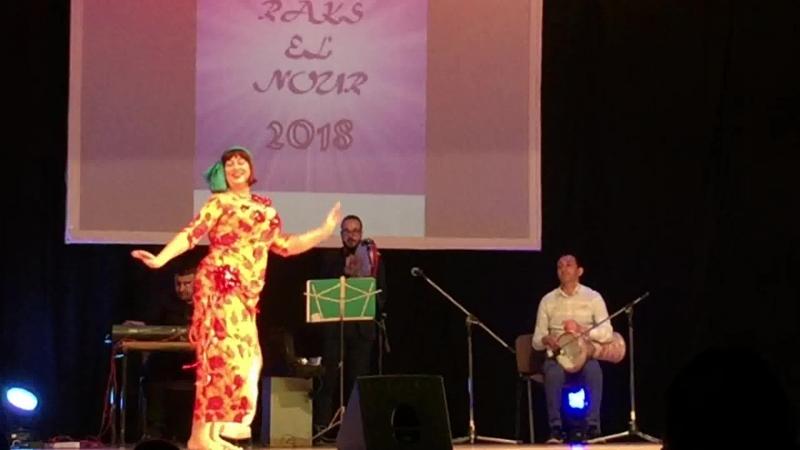 Анжелика Хрипаченко. Raks el Nour 2018. Baladi Band. baladi taksim