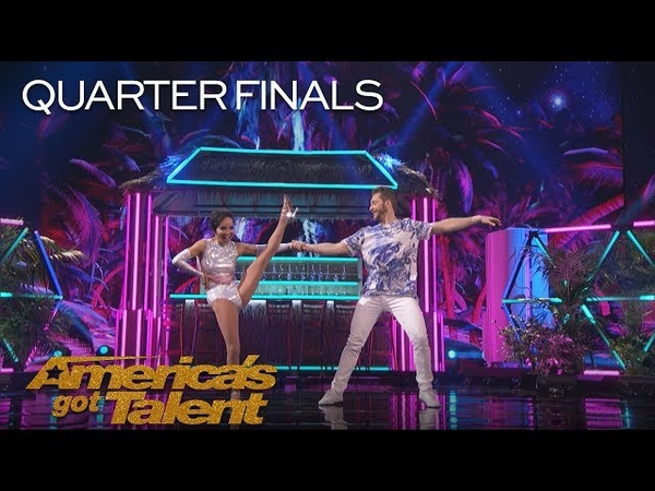 Quin And Misha: 71-Year-Old Dancer Proves That Age Is Just A Number - America's Got Talent 2018