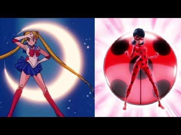 Sailor Moon Transformation - Miraculous Ladybug Music