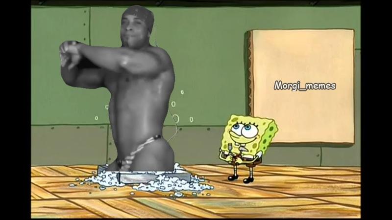 (Ricardo Milos memes) Spongebob creates a masterpiece