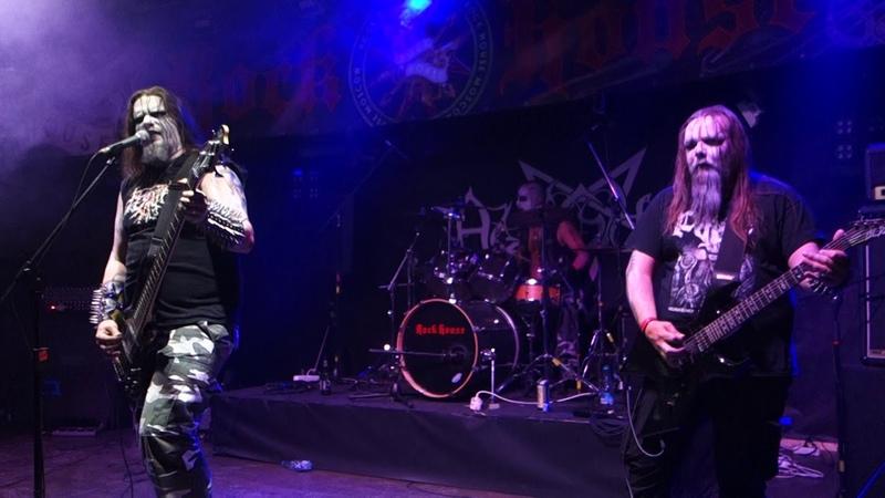 Azaghal Black Terror Metal @ Rock House Moscow 09 06 2018
