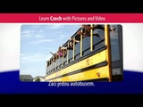 Learn Czech Vocabulary with Pictures and Video - Getting Around Using Czech