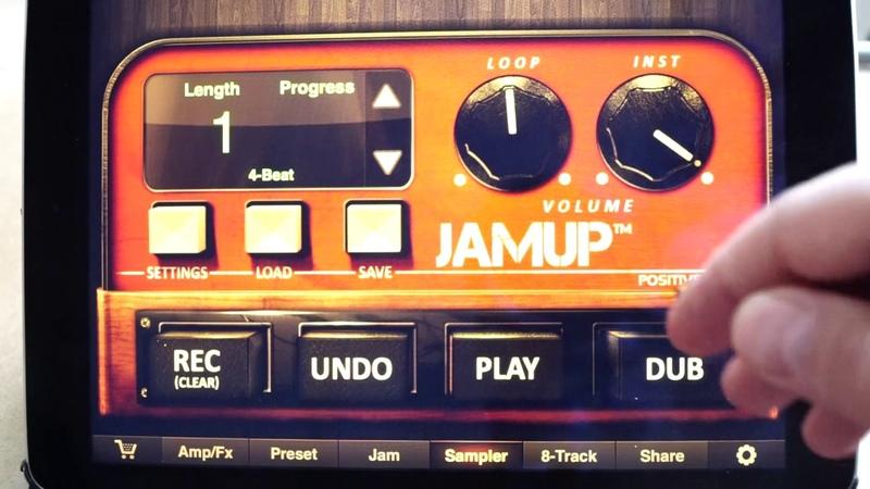 5JamUp Pro Türkçe anlatım (Sampler menüsü,loop,lenght,progress)