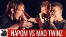 NAPOM vs MAD TWINZ Fantasy Battle World Beatbox Camp