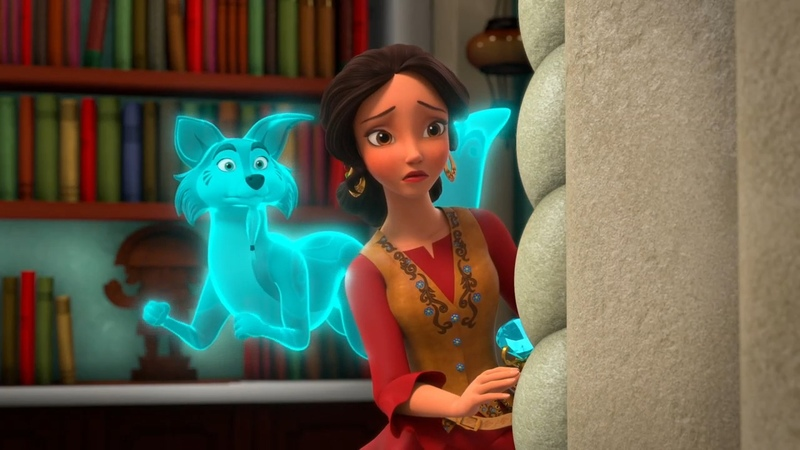Elena of Avalor S02E11 A Tale of Two Scepters