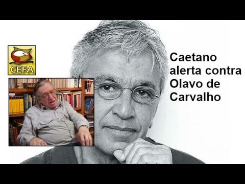 Caetano Veloso pede a bolsonaro que desautorize Olavo de Carvalho
