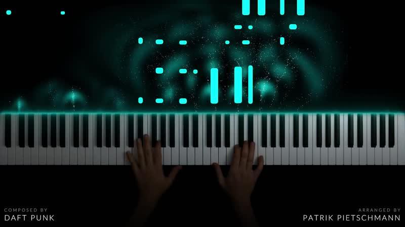 TRON Legacy Main Theme Piano Version