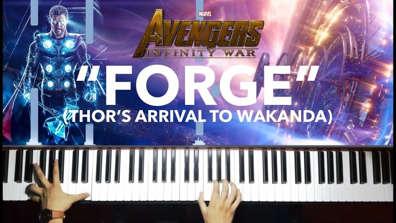 Forge - Avengers: Infinity War (Piano) SHEETS/SYNTHESIA