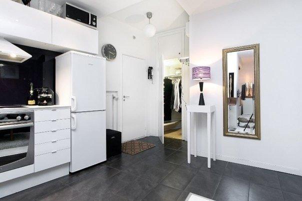 Интерьер квартиры-студии, 31 кв.