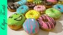 Американские Пончики Донатс Donuts Два рецепта глазури Olya Tortik Домашний Кондитер