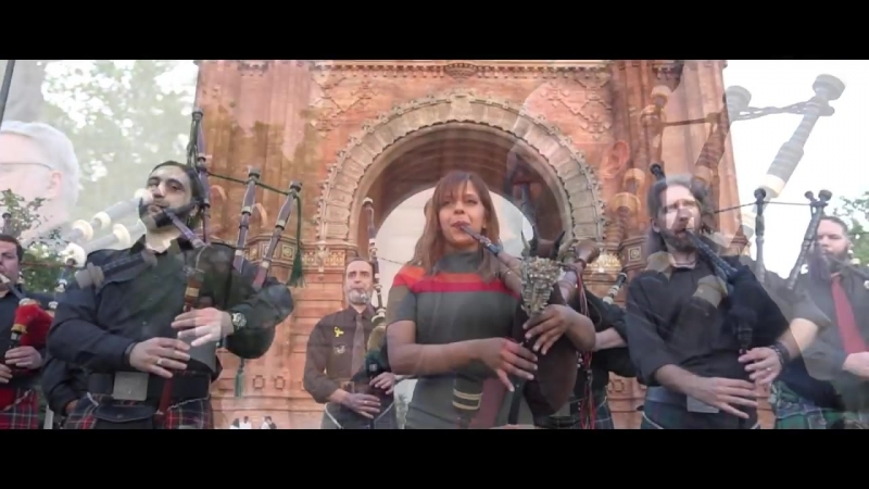 Amazing Grace Bagpipes - The Snake Charmer ft. Barcelona Pipe Band.mp4