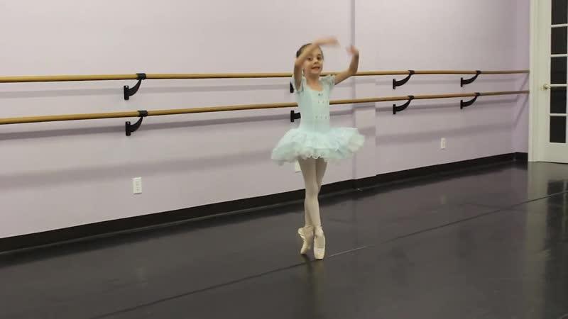 Brittany Tesoriero - 6 Year Old Ballerina